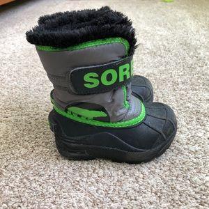 Sorel Snow Commander Toddler Boots